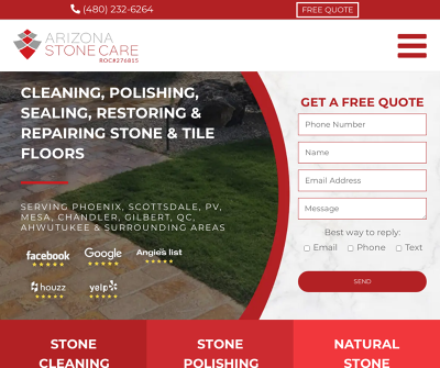 Arizona Stone Care | Phoenix Tile and Grout Cleaning Company
