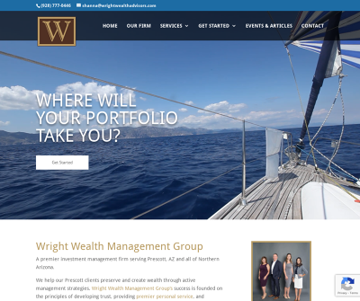 Wright Wealth Management Group | Developing, Implementing and Monitoring Investment Strategies