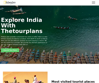 Thetourplans | The Domestic Tour Packages Provider In India