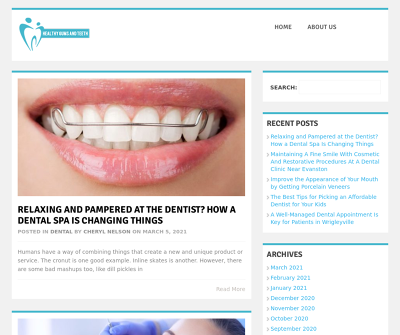 Healthy Gums and Teeth | Searchable Database