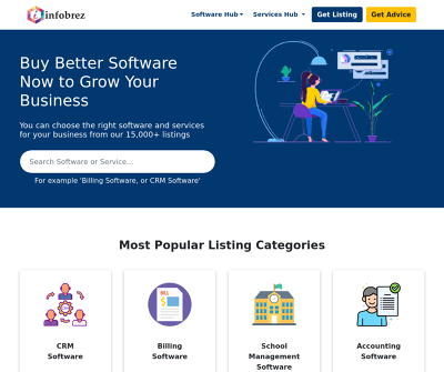 Infobrez | Find The Best Software and Service Providers