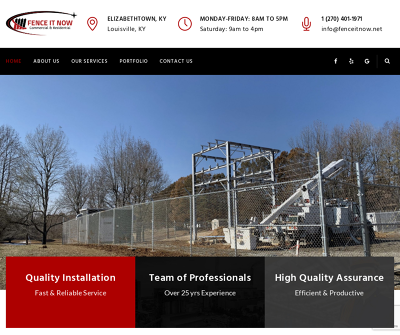 Fence It Now Commercial & Residential |