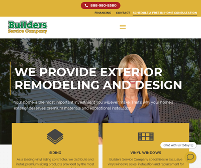 Builders Service Company | Siding, Windows, Roofing Contractor Seattle
