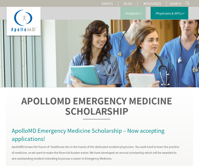 ApolloMD - Emergency Medicine Scholarship