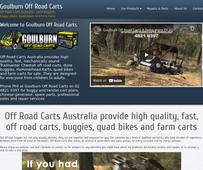 Goulburn Off Road Carts