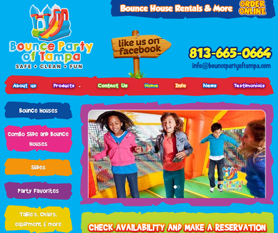 Party rental & bounce houses