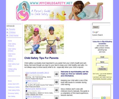 Parents Guide To Child Safety