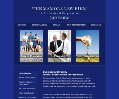 THE MAMOLA LAW FIRM-ESTATE PLANNING PROFESSIONALS