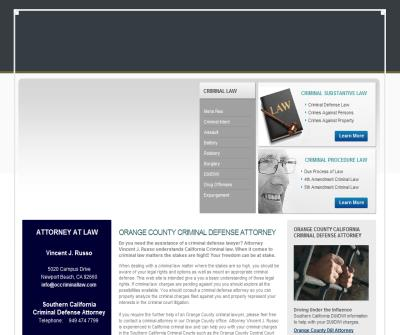 Orange County Criminal & DUI Lawyer