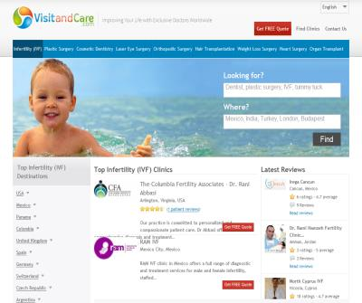 Visit and Care - Combine Quality Dental Care with great vacation for a reasonable price.