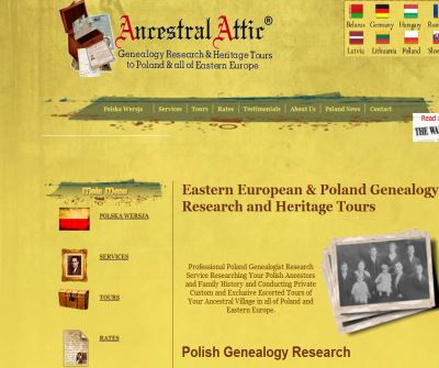 Ancestral Attic Poland Tours