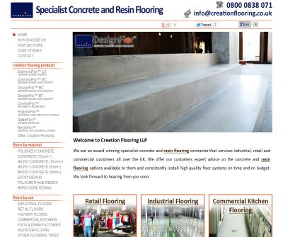 Creation Industrial Resin Flooring