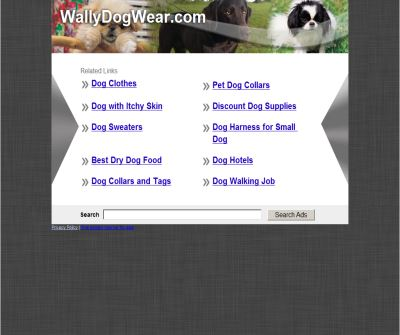 Wally Dog Wear and Gifts