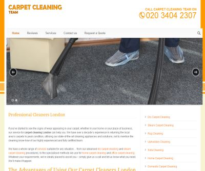 Carpet and Upholstery Cleaning-South LONDON