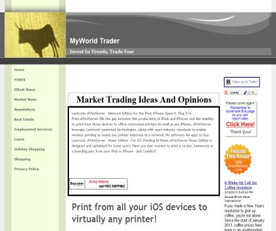 MyWorld Trader community free stock picks investment ideas