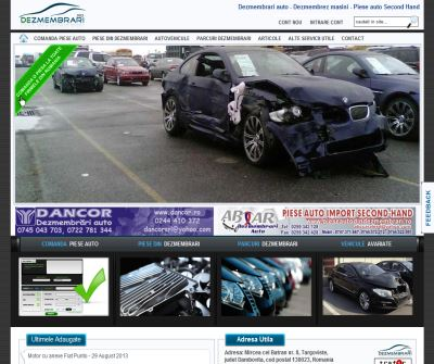 Automotive Dismantlig website