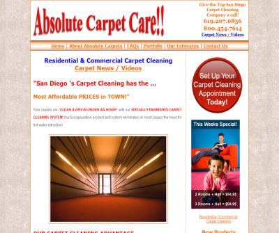 Absolute Carpet Cleaning
