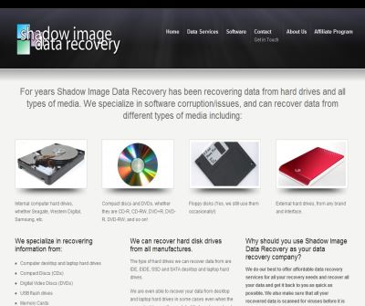 Shadow Image Data Recovery