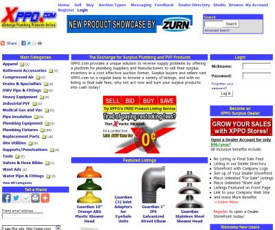 eXchange Plumbing Products Online