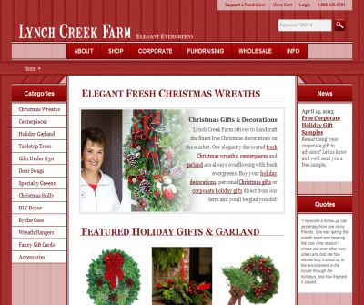 Lynch Creek Farm – Christmas Wreaths & Centerpieces