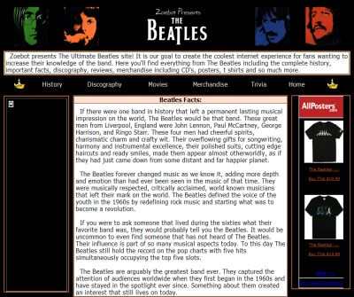 The Ultimate Beatles Site