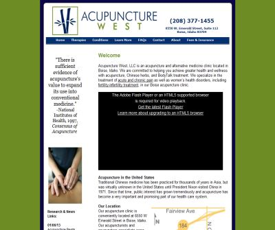 Acupuncture West LLC - Boise, ID