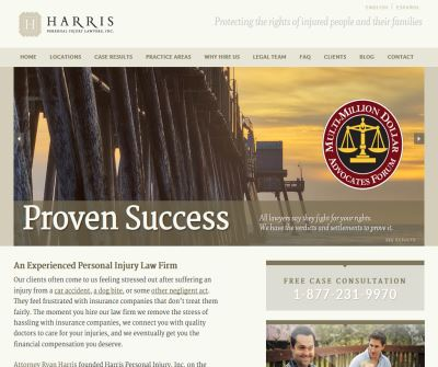 Personal Injury Law Offices of Ryan Harris | Attorneys specializing in Auto Accidents and Personal Injury - Oceanside, California, CA