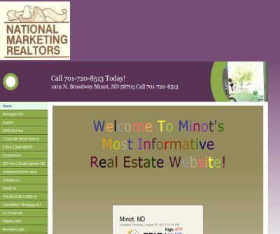 Minot Homes and Minot Real Estate