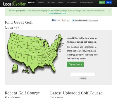 Mid-Atlantic Public Golf Course Reviews, Ratings and Directory