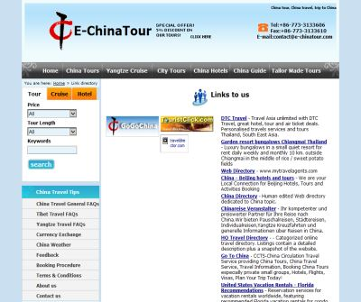 China travel and China tours