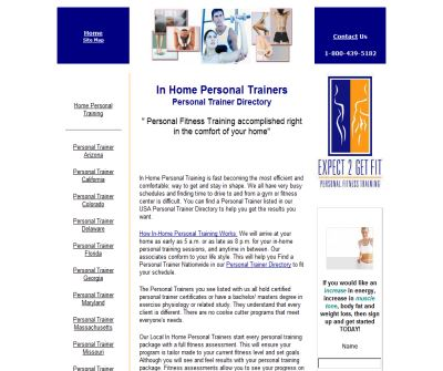 Personal Trainer Directory-Home Personal Training Directory