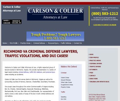 Virginia Lawyers and Attorneys Carlson & Collier