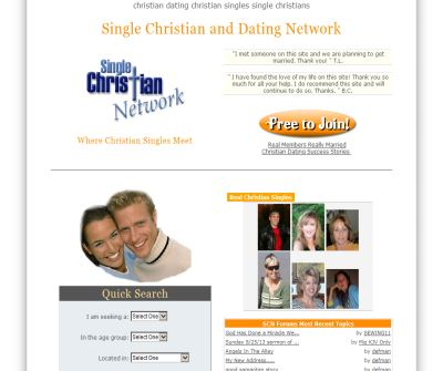 Single Christian Network - a warm caring place for single Christians.