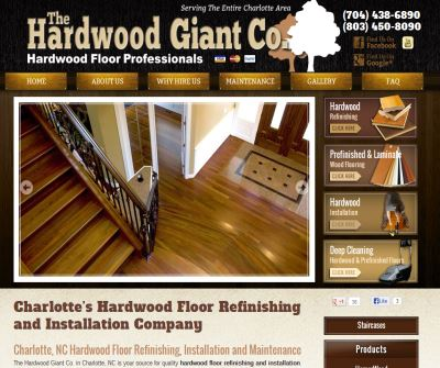 Charlotte, NC Hardwood Floor Installation & Refinishing Experts