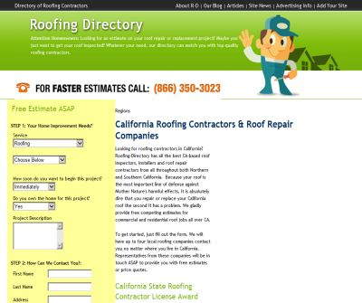 Roofing Contractors in CA