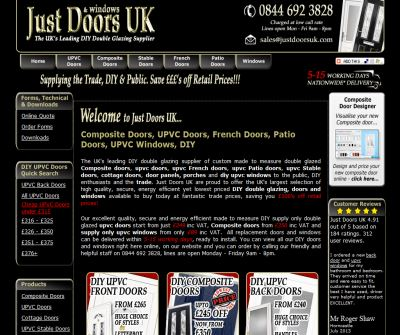 Composite Doors, UPVC Doors, DIY Double Glazing