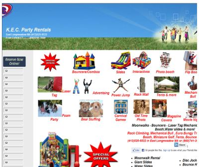 Bounce House Moonwalk Rental K. E. C Party Rentals