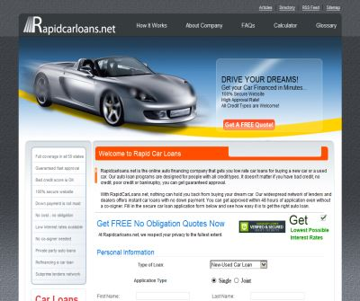 California Car Loans