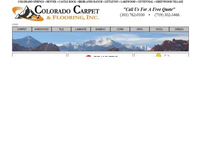 Colorado Carpet & Flooring, Inc.