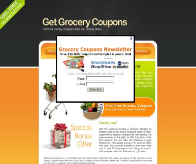 Get 100% Free Grocery Coupons