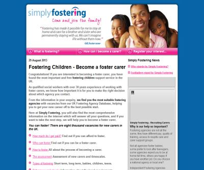 Simply Fostering Foster carers