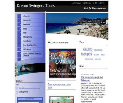 Dream Swingers Tours - Erotic Adult Travel