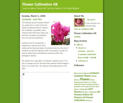 Flower Cultivation UK