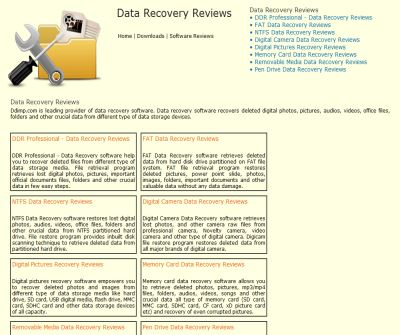 file recovery freeware