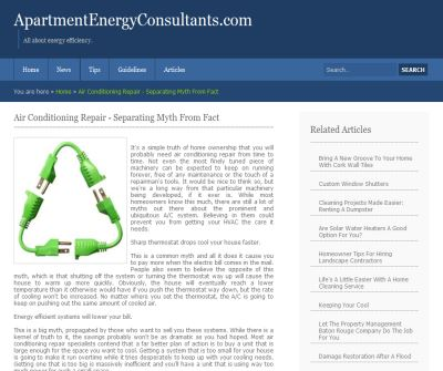 Apartment Energy Consultants