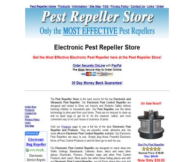 Electronic Pest Control Repeller Store