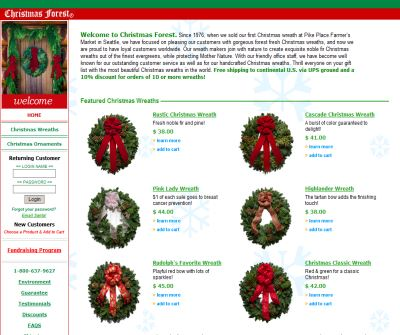 Christmas Forest Wreaths