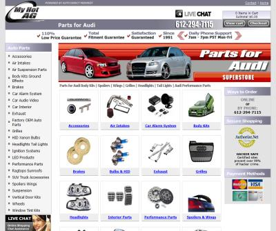 Great Audi Car Parts