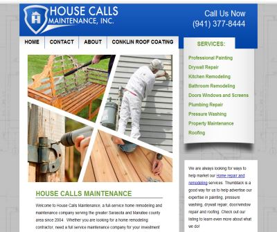 Home Repairs by House Calls Maintenance