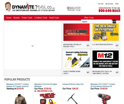 Makita Tools Milwaukee Tools Bosch Tools | Dynamite Tools